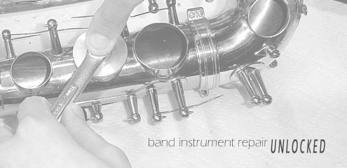Band Instrument Repair Meets Today's Technology